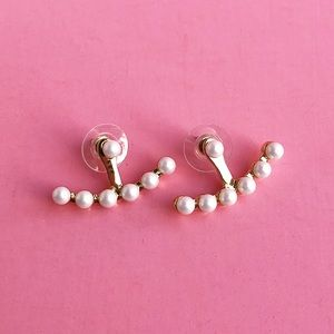 Jewelry - Pearl Jacket Earrings